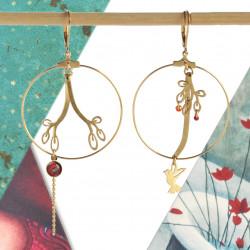Créoles colibri et branches...